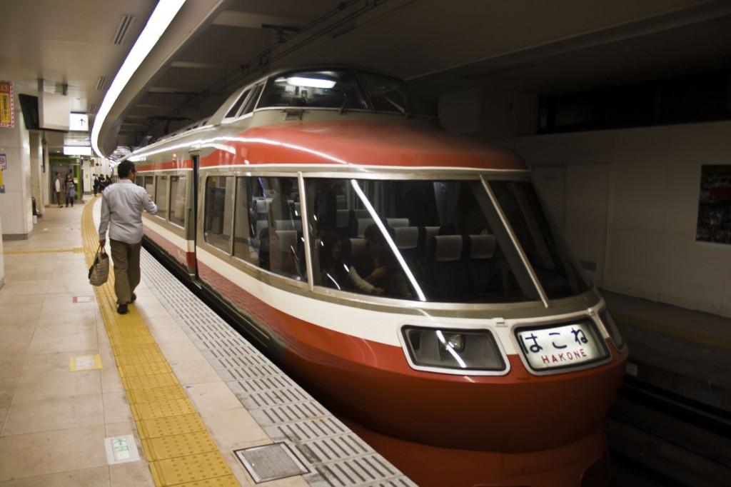 Romancecar Zug von Tokyo nach Hakone