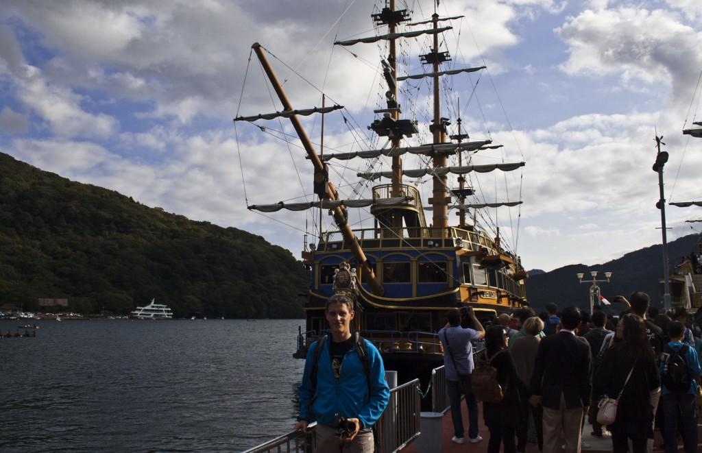 Das majestätische Piratenschiff