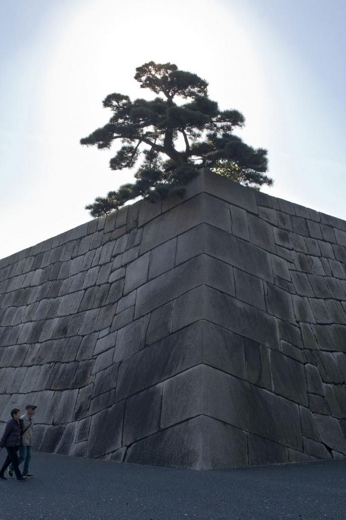 Mauer die den Kaiserpalast umgibt