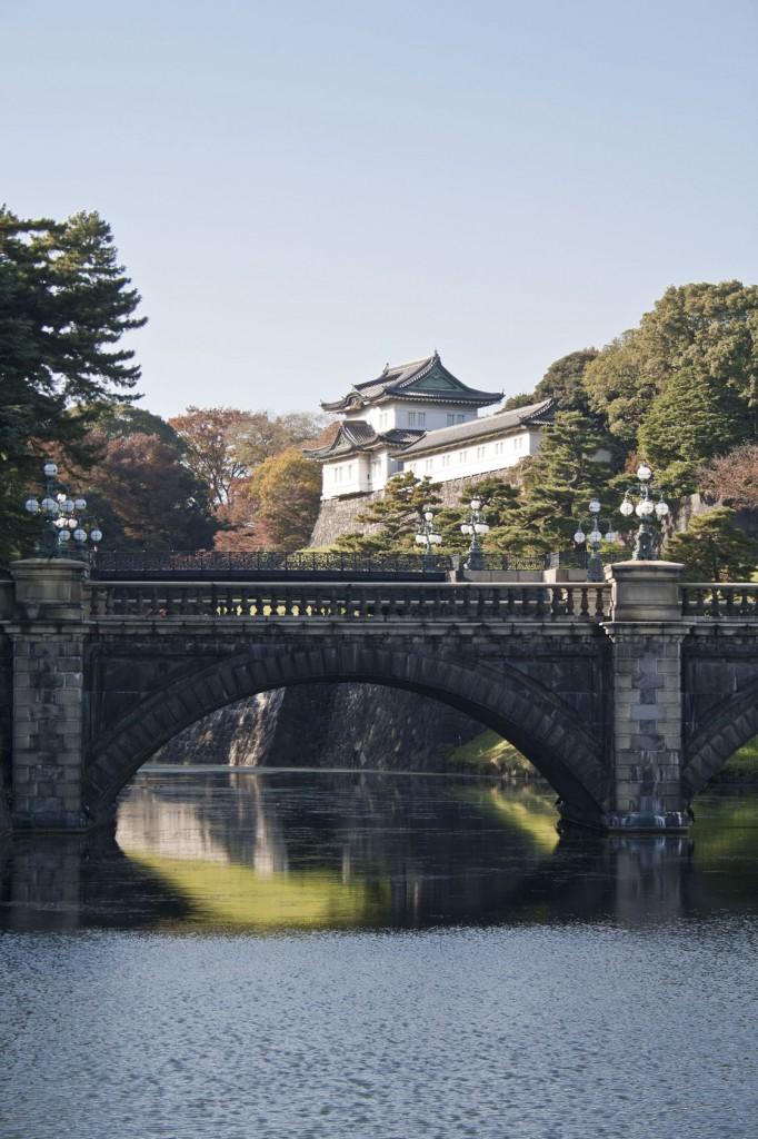 Brücke mit Eingangstor zum Kaiserpalast