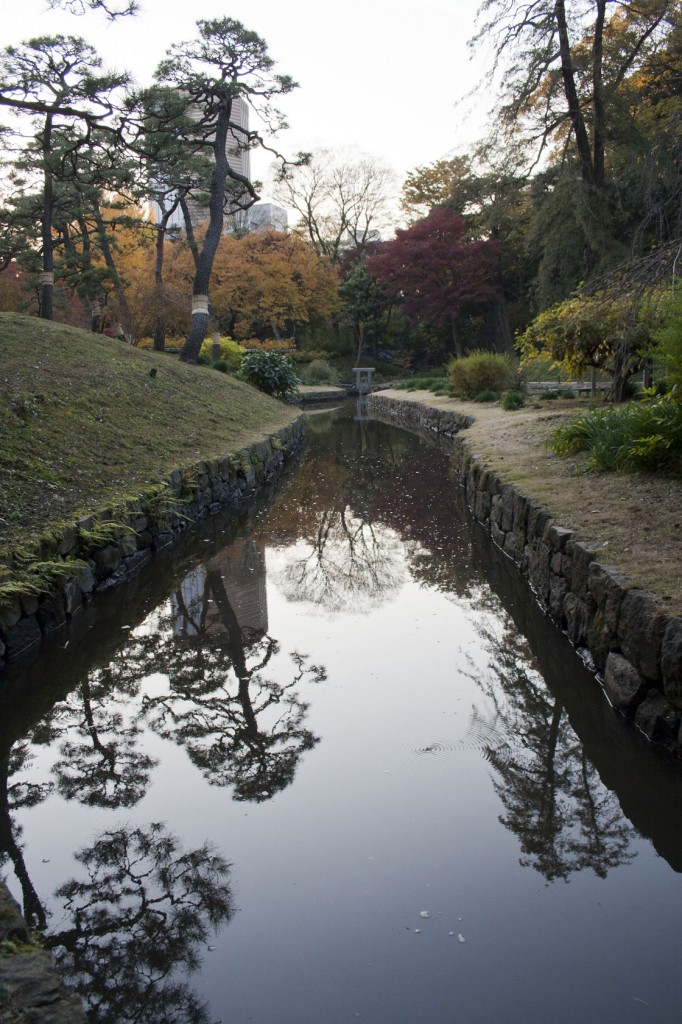 Wasserschleuse im Korakuen Park
