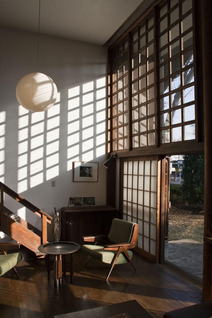 Das Foyer im Forschungesgebäude. Hier kann man mit andern Forschern diskutieren.
